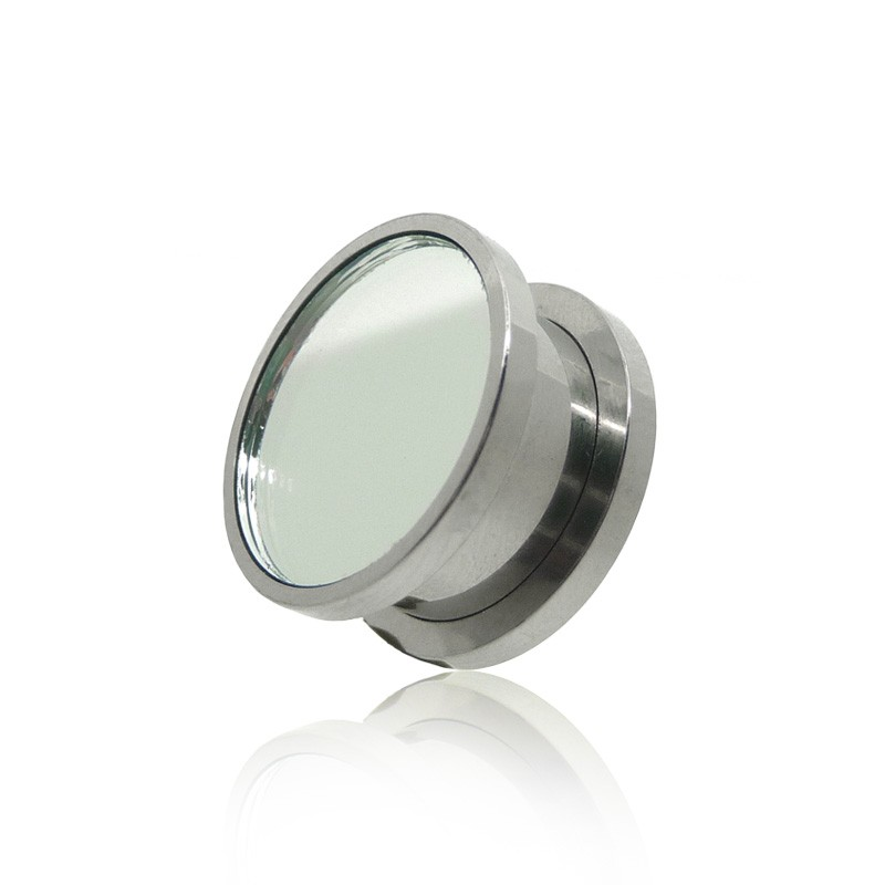 Piercing tunnel acier chirurgical miroir